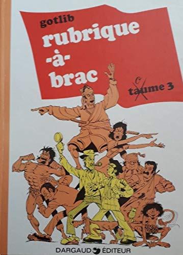 9782205049183: Rubrique-à-Brac, Tome 3 :
