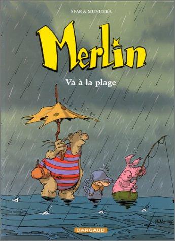 9782205049725: Merlin, tome 3 : Merlin va à la plage