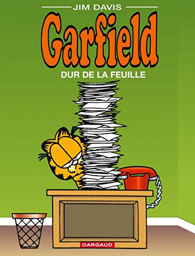 Garfield, tome 30: Dur de la feuille (2205049852) by Jim Davis
