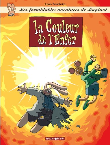 9782205049886: Les formidables aventures de Lapinot: La couleur de l'Enfer