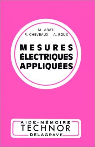 9782206000503: MESURES ELECTRIQUES APPLIQUEES