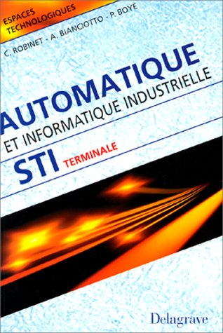 automatique et informatique industrielle st