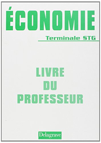 9782206010267: Economie Tle STG (French Edition)