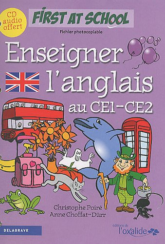 9782206013947: Enseigner l'anglais au CE1-CE2 (1CD audio)