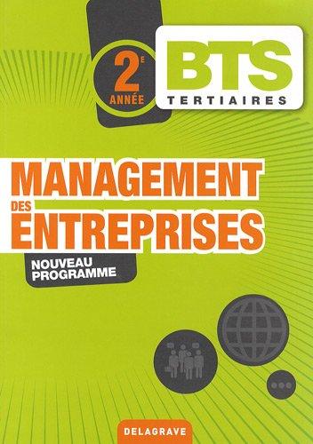 9782206014258: Management des entreprises BTS tertiaires 2e année (French Edition)