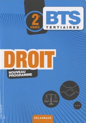 9782206015699: Droit, BTS tertiaires 2e année (French Edition)