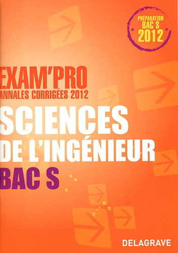 9782206017020: Sciences de l'ingenieur BAC S (French Edition)