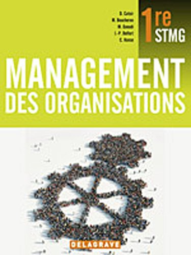 9782206017518: management des organisations 1e stmg eleve