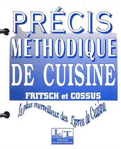 9782206032351: Précis méthodique de cuisine (Fiches, classeur)
