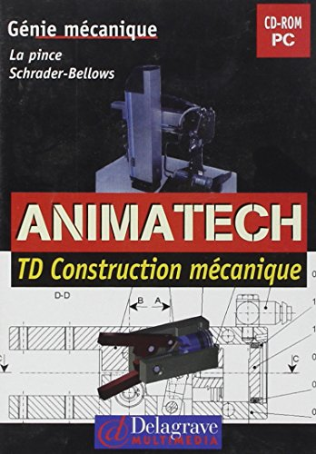9782206055312: Animatech Td Construction Mecanique CD ROM PC (French Edition)
