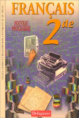 9782206082141: Fran�ais, Seconde, livre de l'�l�ve