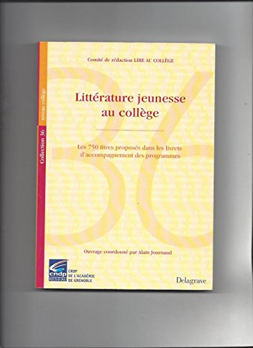 litterature jeunesse au college