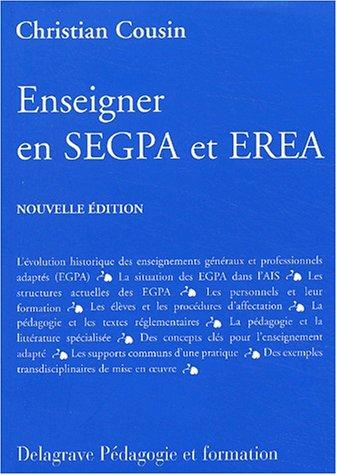 9782206087016: Enseigner en SEGPA et EREA (Guide pédagogique)