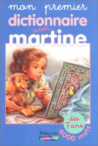 9782206087061: mon premier dictionnaire avec martine