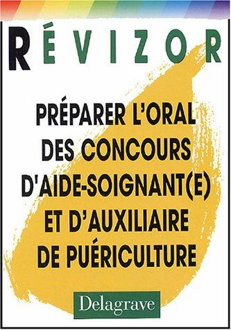 9782206088334: Préparer l'oral des concours d'aide-soignant(e) et d'auxiliaire de puériculture