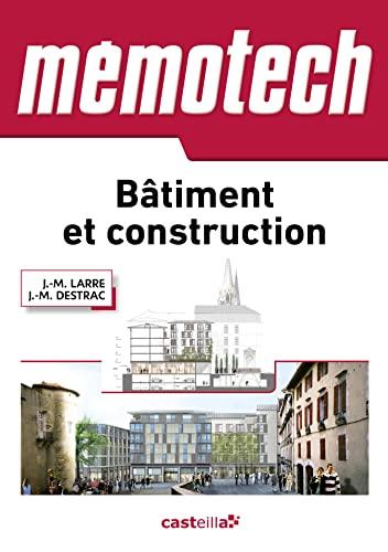 MEMOTECH BATIMENT ET CONSTRUCTION 2015: LARRE JEAN MARIE