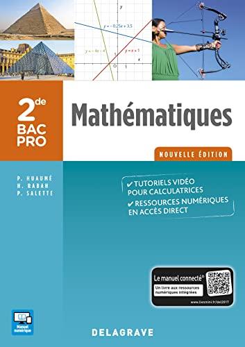 9782206101736: Mathématiques 2de Bac Pro - Groupements A, B, C - Pochette élève