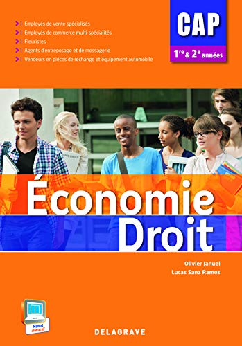 9782206200057: Economie Droit CAP 1e et 2e années