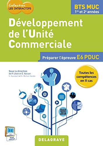 9782206201306: Développement des unités commerciales BTS MUC élève 2015