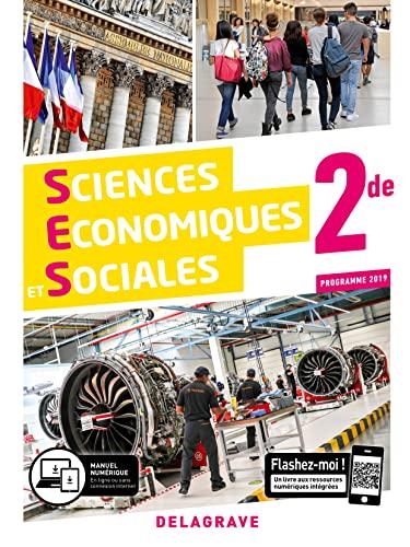 9782206204994: Sciences economiques et sociales (ses) 2de (2019) - manuel eleve (LEGT enseign exploration terti)