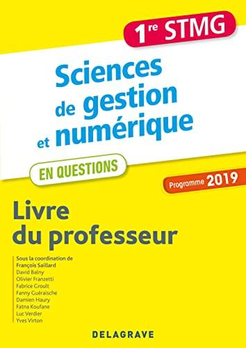 9782206305370: Sciences de gestion et numérique 1re STMG (2019) - Livre du professeur pochett