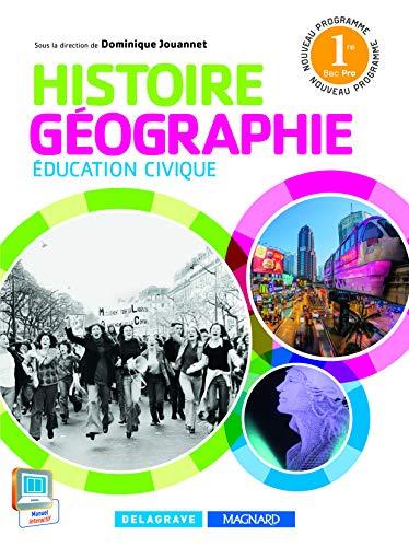 9782206400099: Histoire Géographie 1re Bac Pro