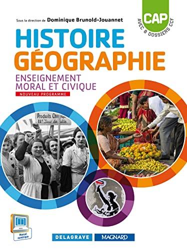 9782206400297: Histoire Géographie EMC CAP (2015) - Manuel élève