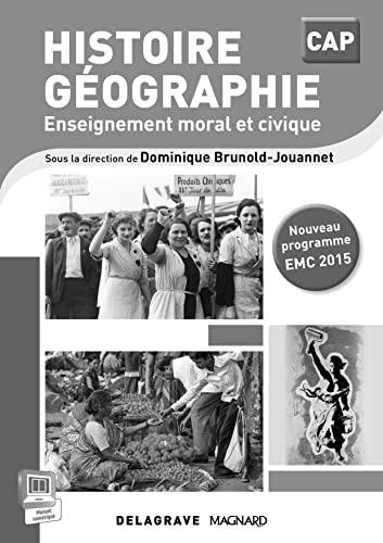 9782206400419: Histoire-géographie EMC cap livre du professeur 2015