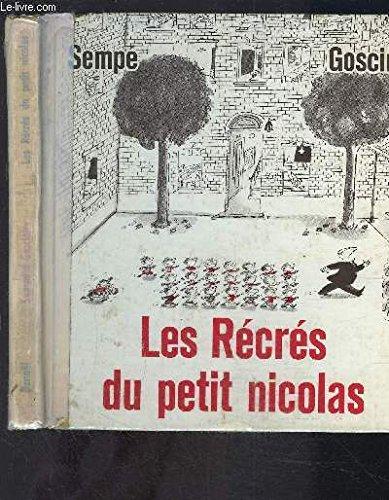 9782207222805: Les Récrés du Petit Nicolas - AbeBooks ...