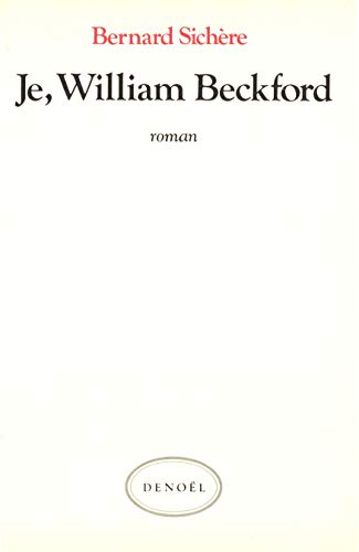 Je, William Beckford