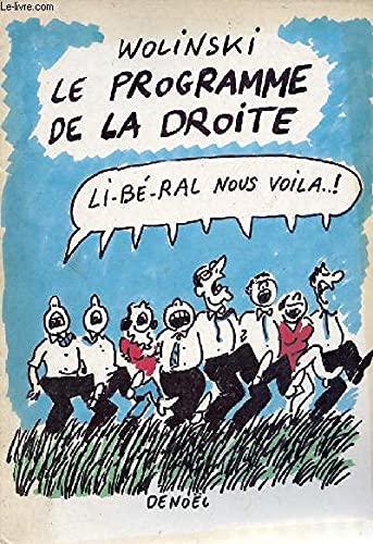 Le programme de la droite: Wolinski