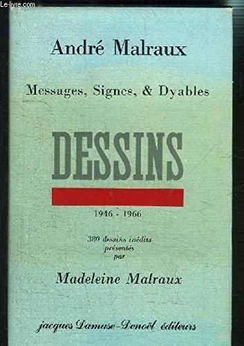 9782207233184: Messages, signes et dyables : 380 dessins inédits, 1946-1965