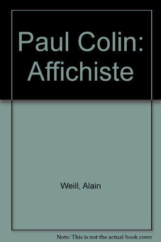 Paul Colin Affichiste: Weill, Alain