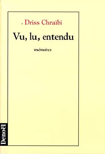 9782207243909: Vu, lu, entendu (Romans Français)
