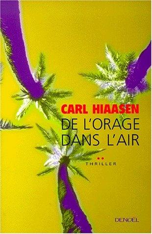 9782207244722: De l'orage dans l'air (French Edition)