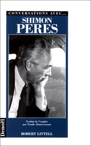 9782207245903: Conversations avec-- Shimon Peres