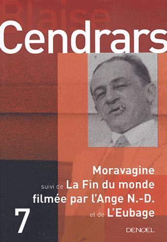 """9782207255520: Moravagine, suivi de """"La Fin du monde filmée par l'Ange N.-D."""" et de """"L'Eubage"""""""