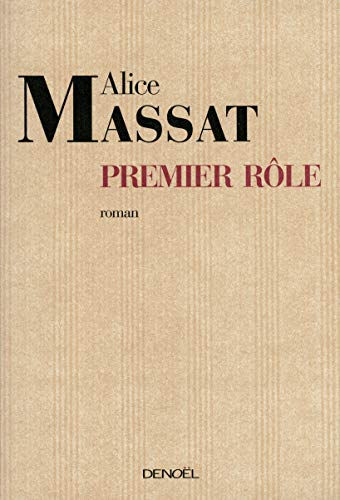 9782207255780: Premier role (French Edition)