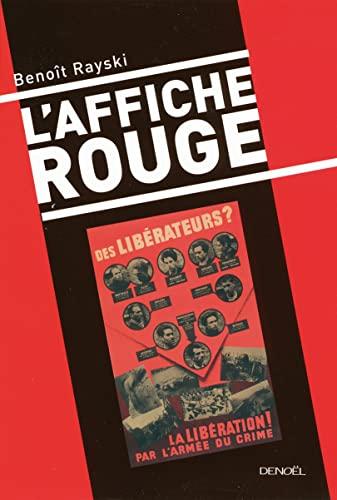 L'Affiche rouge: Rayski,Benoît