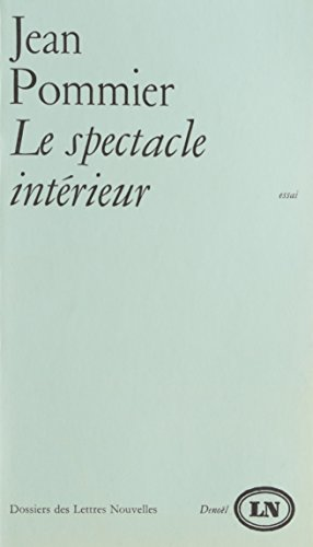 9782207280805: Spectacle interieur