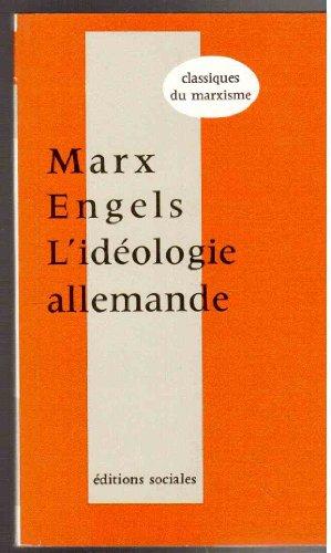 9782209024995: L'idéologie allemande, Tome premier