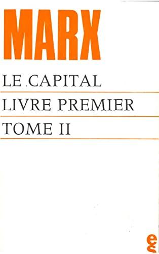 9782209025138: Le capital. Livre premier, tome 2