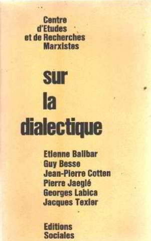 9782209052622: Sur la dialectique (French Edition)
