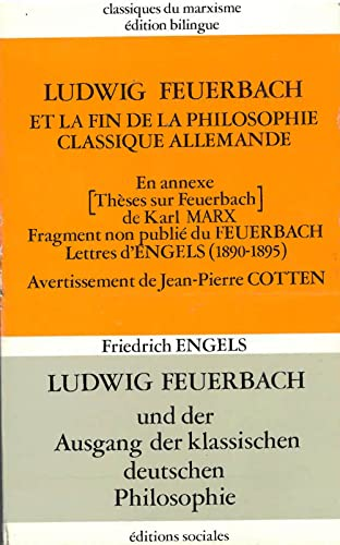 9782209053469: Ludwig Feuerbach et la fin de la philosophie classique allemande (Bibliotheque marxiste)
