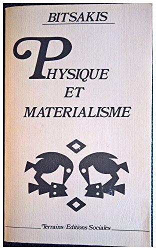 Physique et materialisme (Terrains): Eutyches I Bitsakes