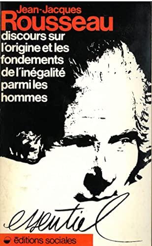 9782209055173: Discours sur l'origine et les fondements de l'inégalité parmi les hommes (Essentiel) (French Edition)