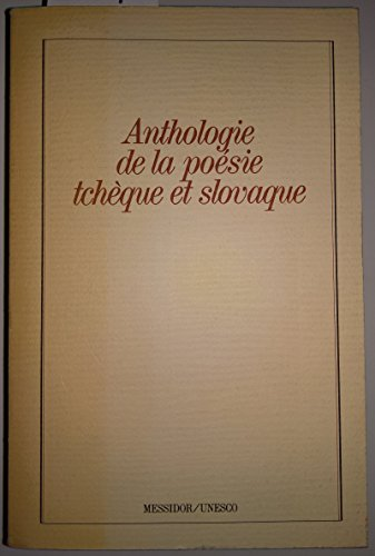 9782209058730: Anthologie de la poésie tchèque et slovaque