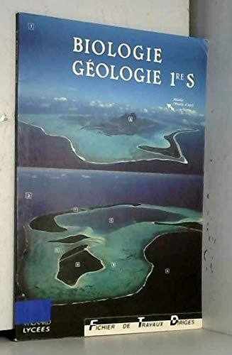 9782210102842: Biologie-géologie, 1re S : fichier de travaux dirigés