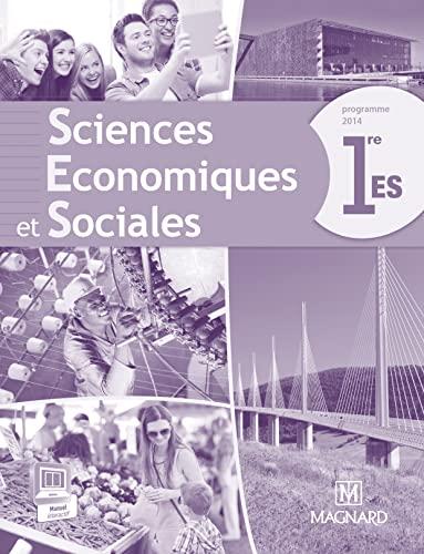 9782210103078: Sciences économique et sociales 1re ES : Nouveau Programme - Livre du professeur