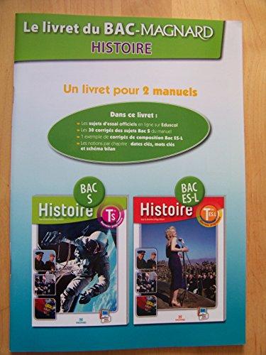 9782210103092: Le livret du BAC MAGNARD Histoire